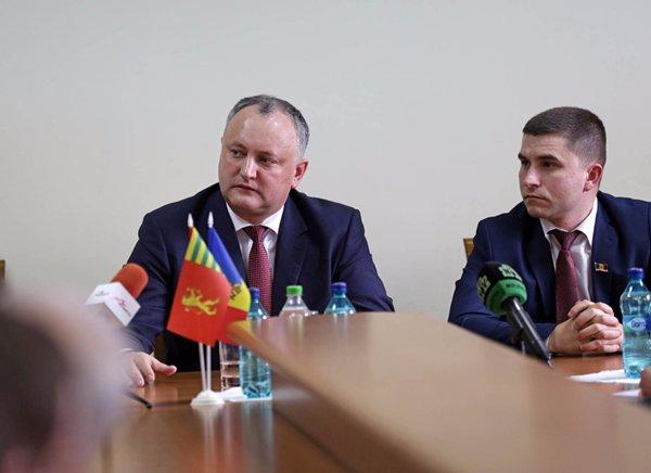 (Русский) 25 февраля 2017 года визит президента Республики Молдова в район Басарабяска