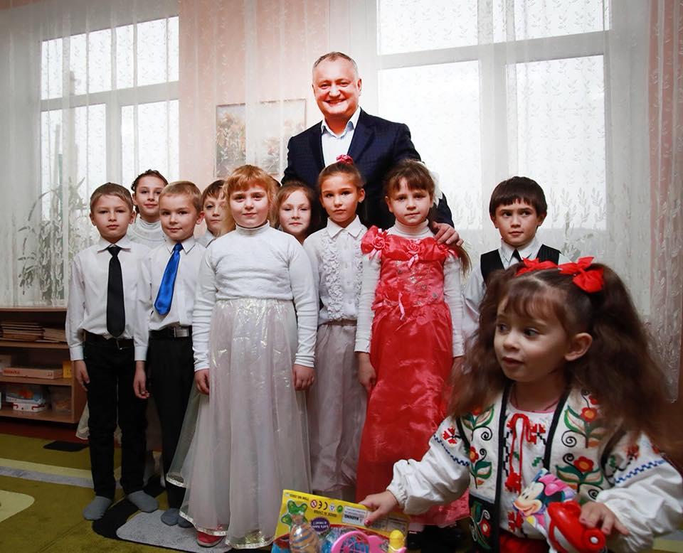 Визит президента Республики Молдова в район Басарабяска