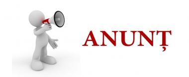 AVIZ..   cu privire la organizarea Serviciului Civil (de alternativă)