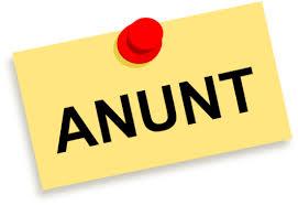 ANUNȚ PRIVIND ORGANIZAREA CONSULTĂRILOR PUBLICE