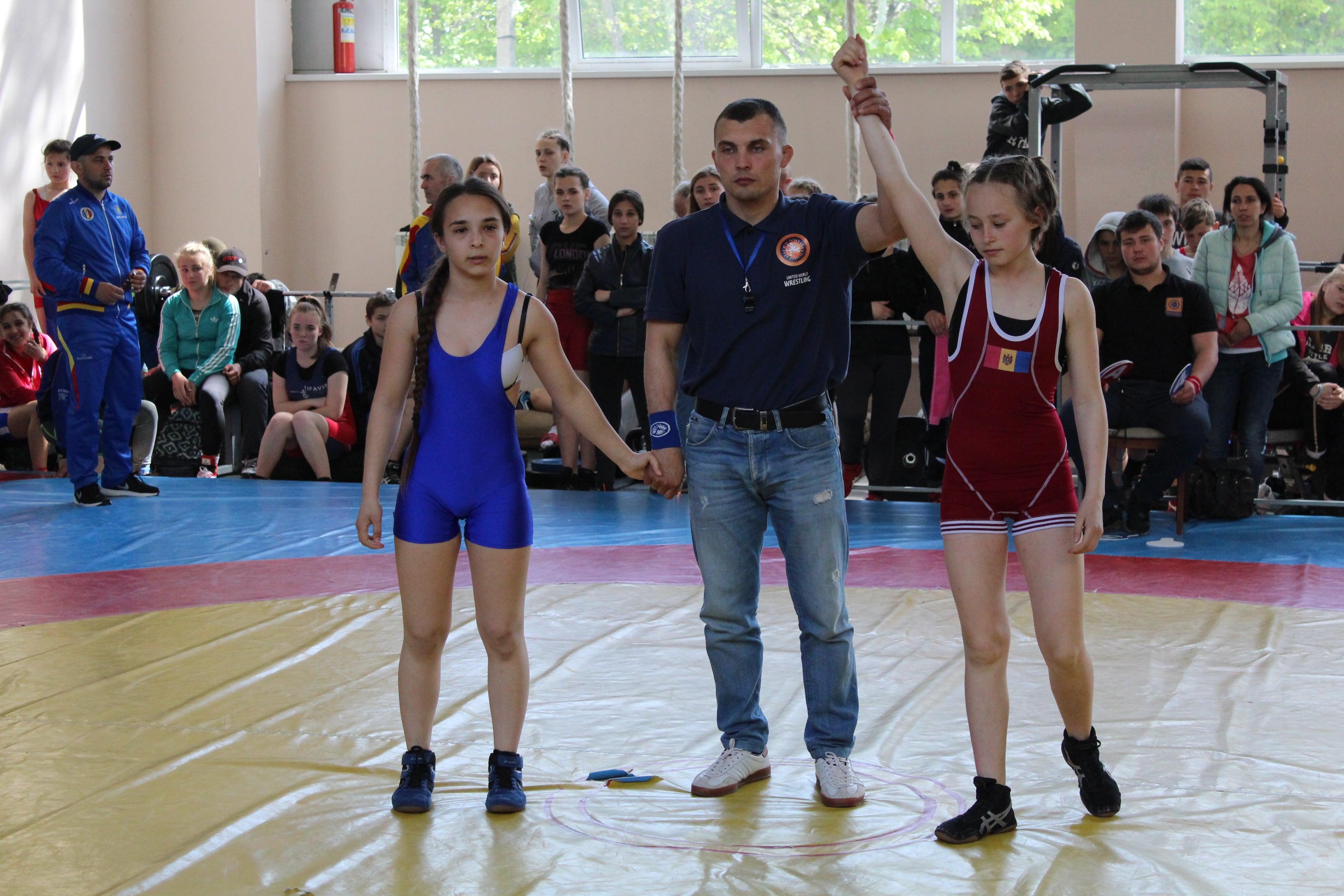 Чемпионат Республики Молдова по вольной борьбе 24 – 26 апреля 2019