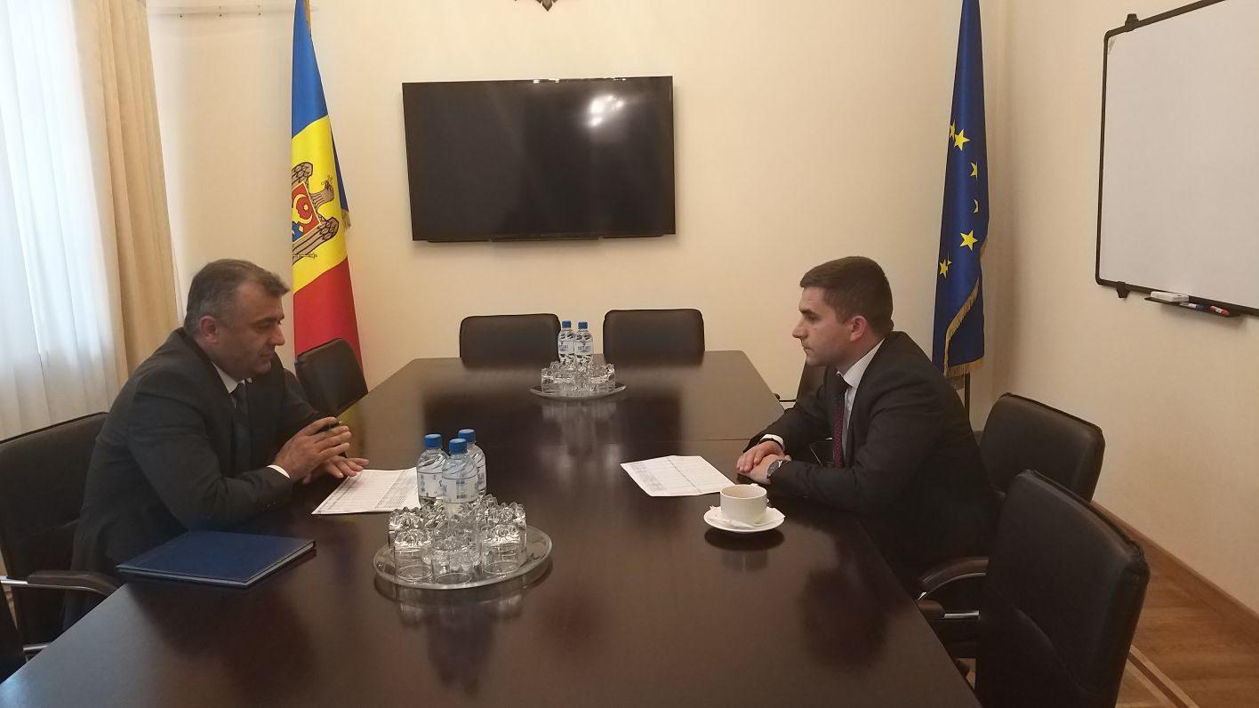 Рабочая встреча с министром финансов РМ , май 2019