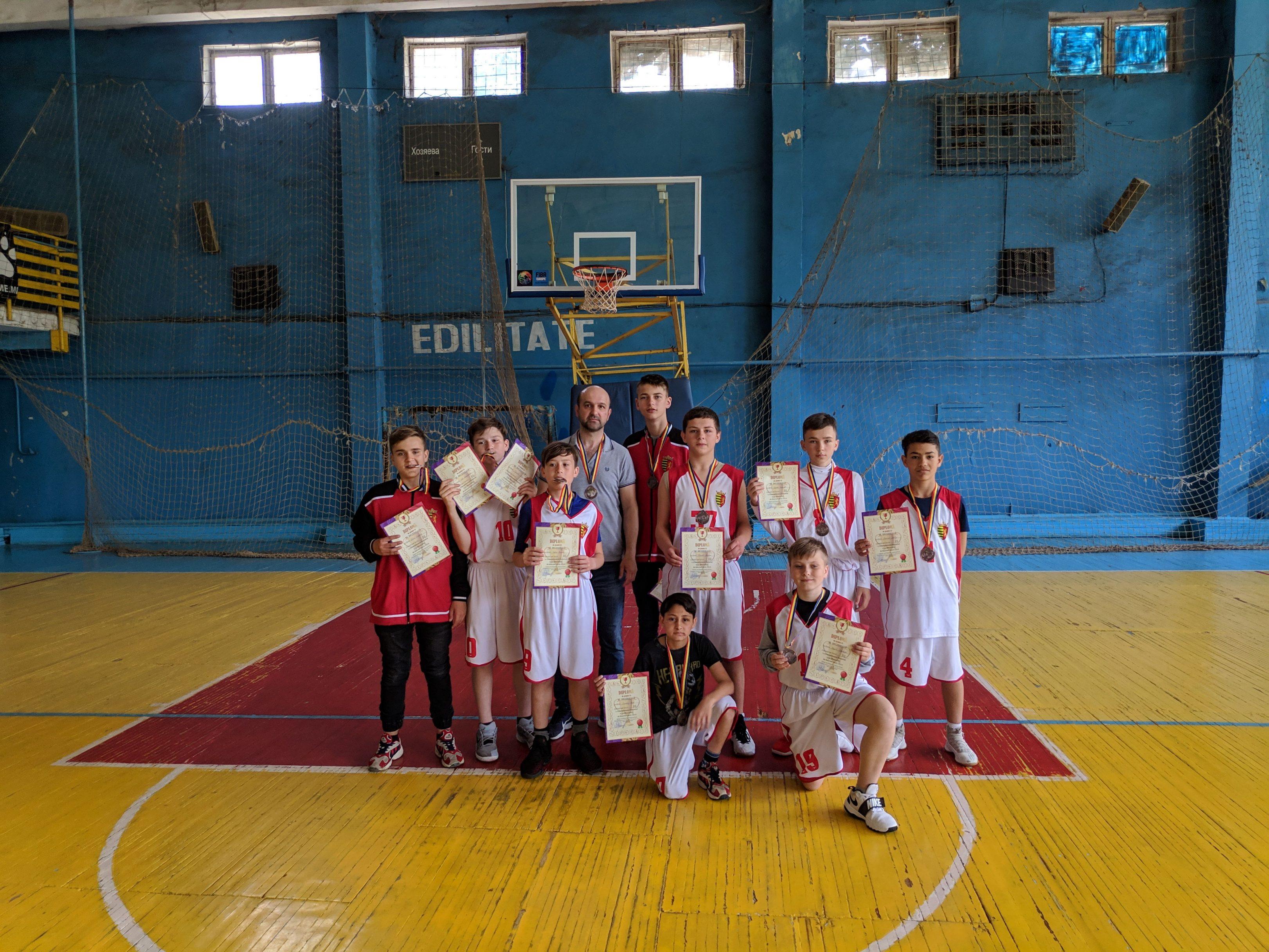 Чемпионат Молдовы по баскетболу, U-14,  13-17 мая 2019 год