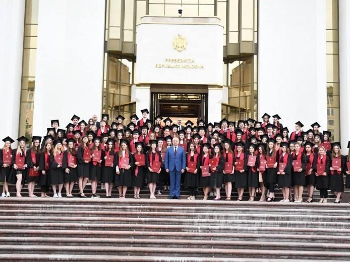 Вручение Почетных дипломов Президента Республики Молдова.