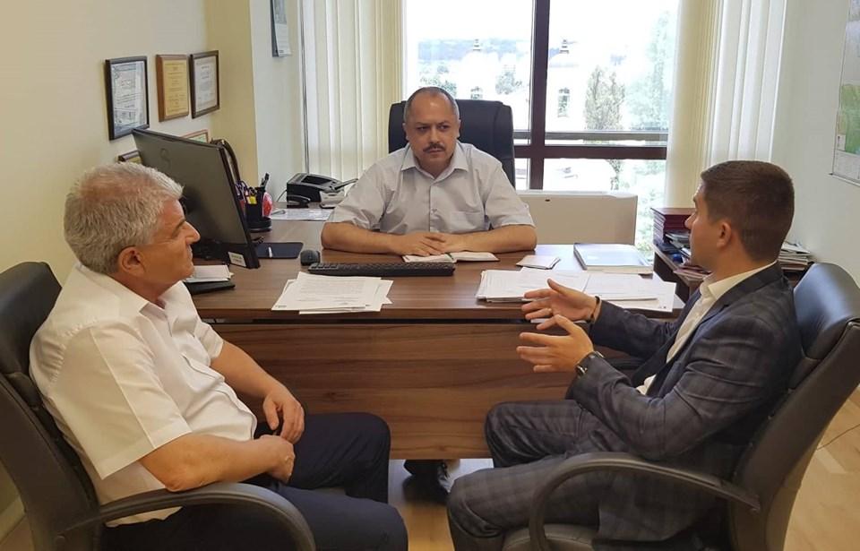 Рабочая встреча с советником президента РМ  в области образования, культуры и исследований господином Корнелиу Попович
