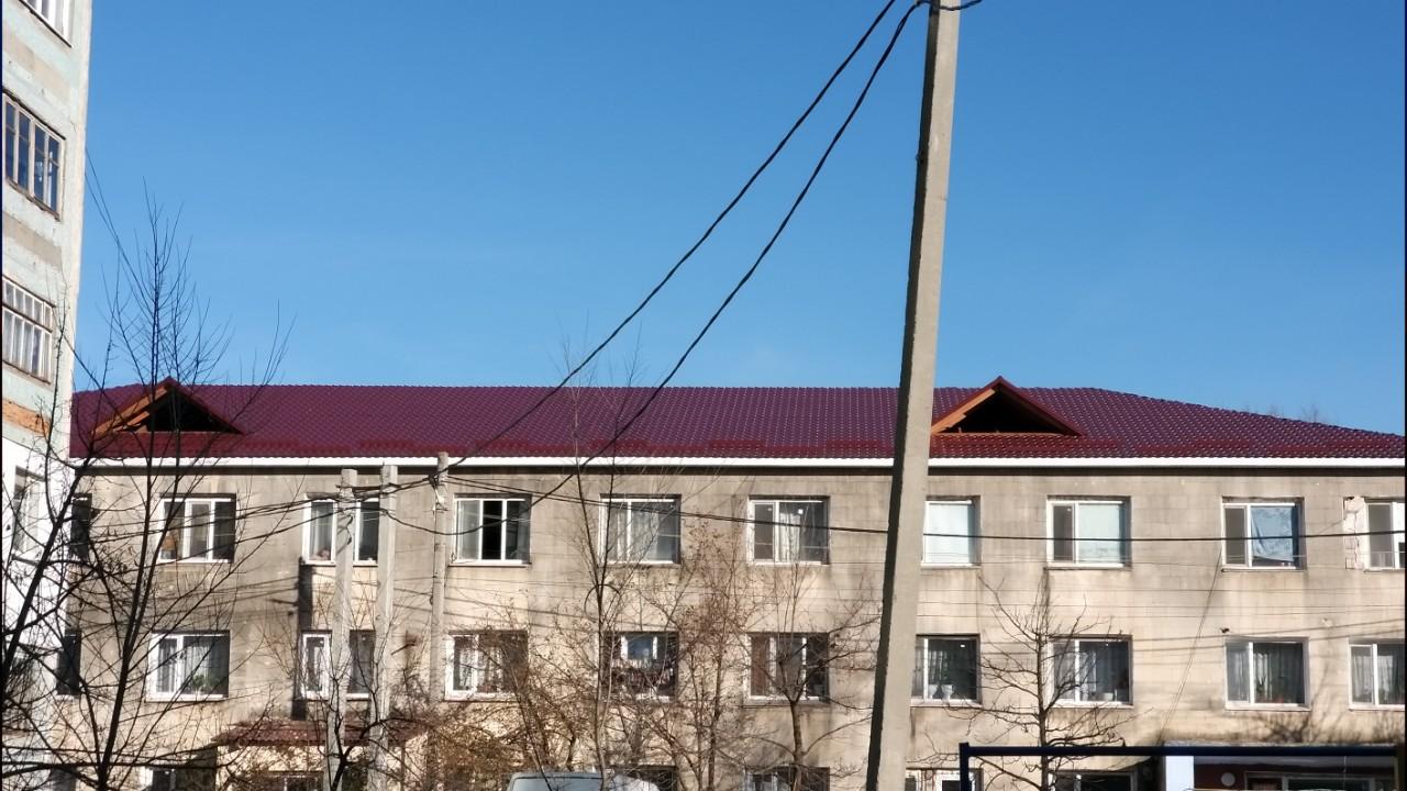 Etapa finală a reparației acoperișului, după evenimentele din 3 iulie 2019