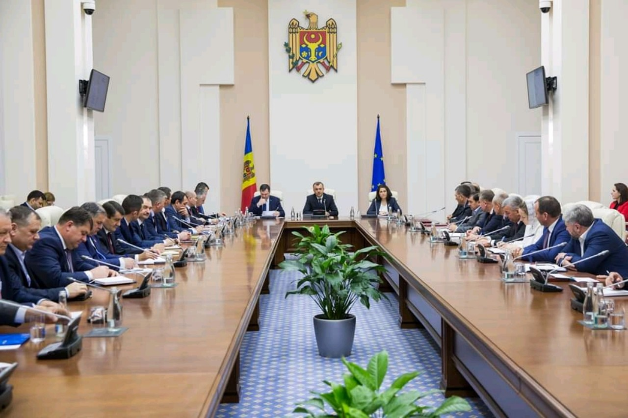 La întrevederea cu prim-ministrul RM, Dl Ion Chicu. 10.12.2019