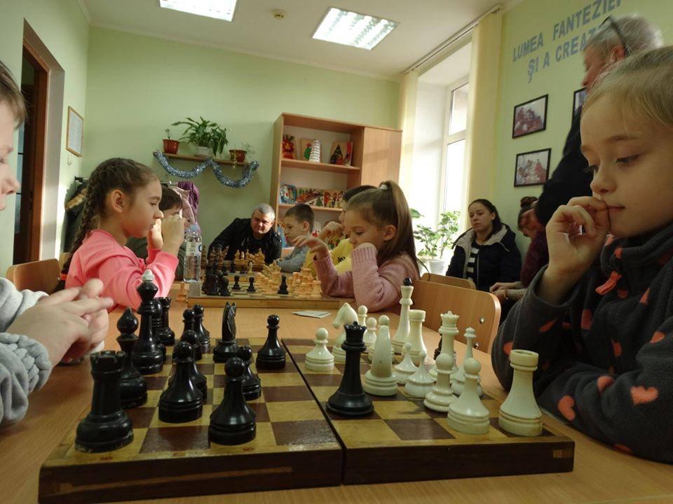 Детский шахматный турнир, 28 декабря 2019