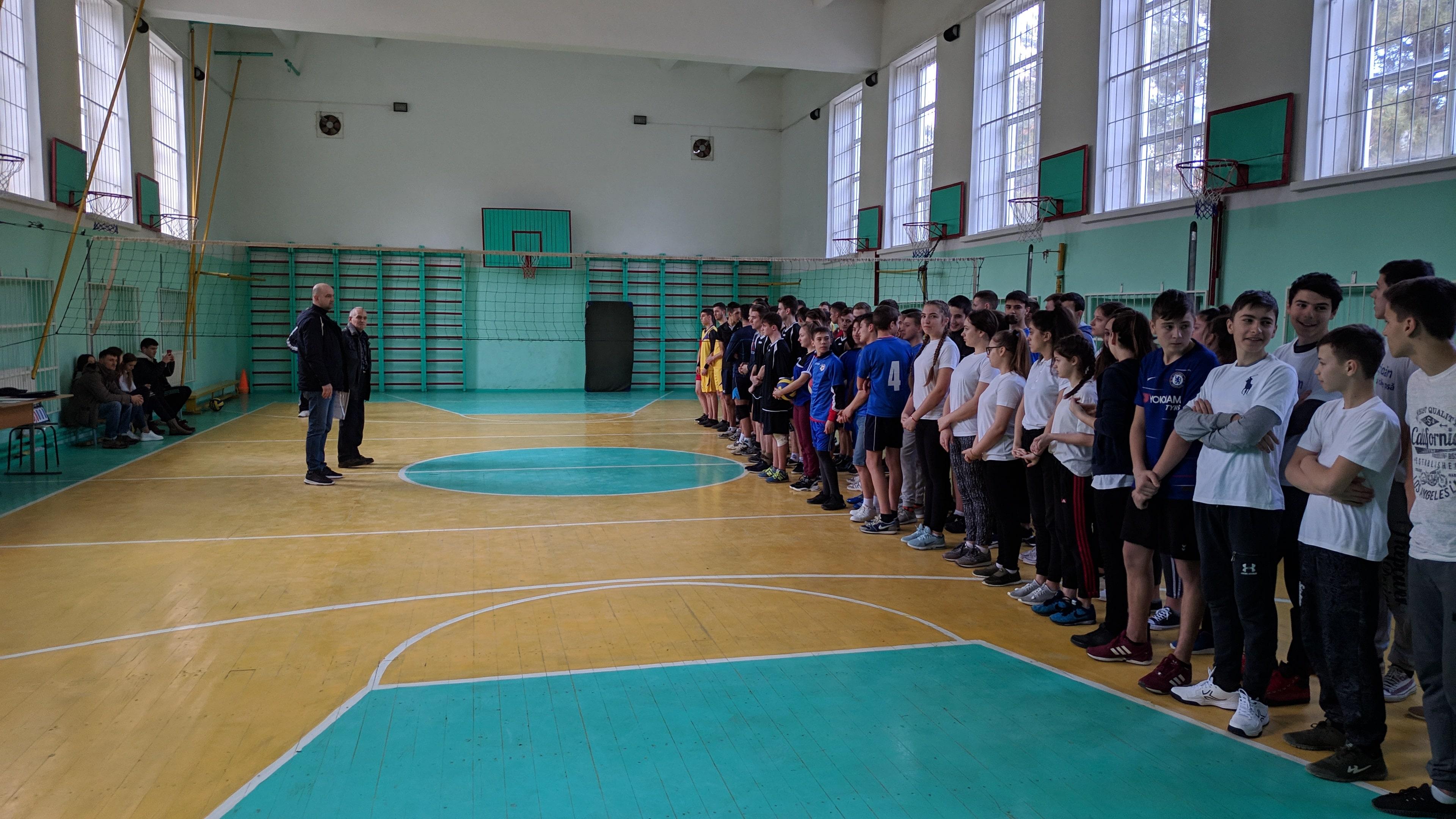 Районный чемпионат по волейболу, среди команд  общеобразовательных учреждений Бессарабского района