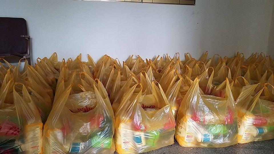 Продуктовые пакеты для одиноких пенсионеров района Басарабяска