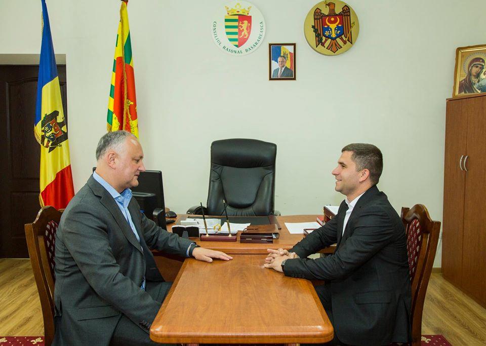 Рабочий визит Президента Республики Молдова  И.Н. Додон в район Басарабяска, 13 мая 2020 год
