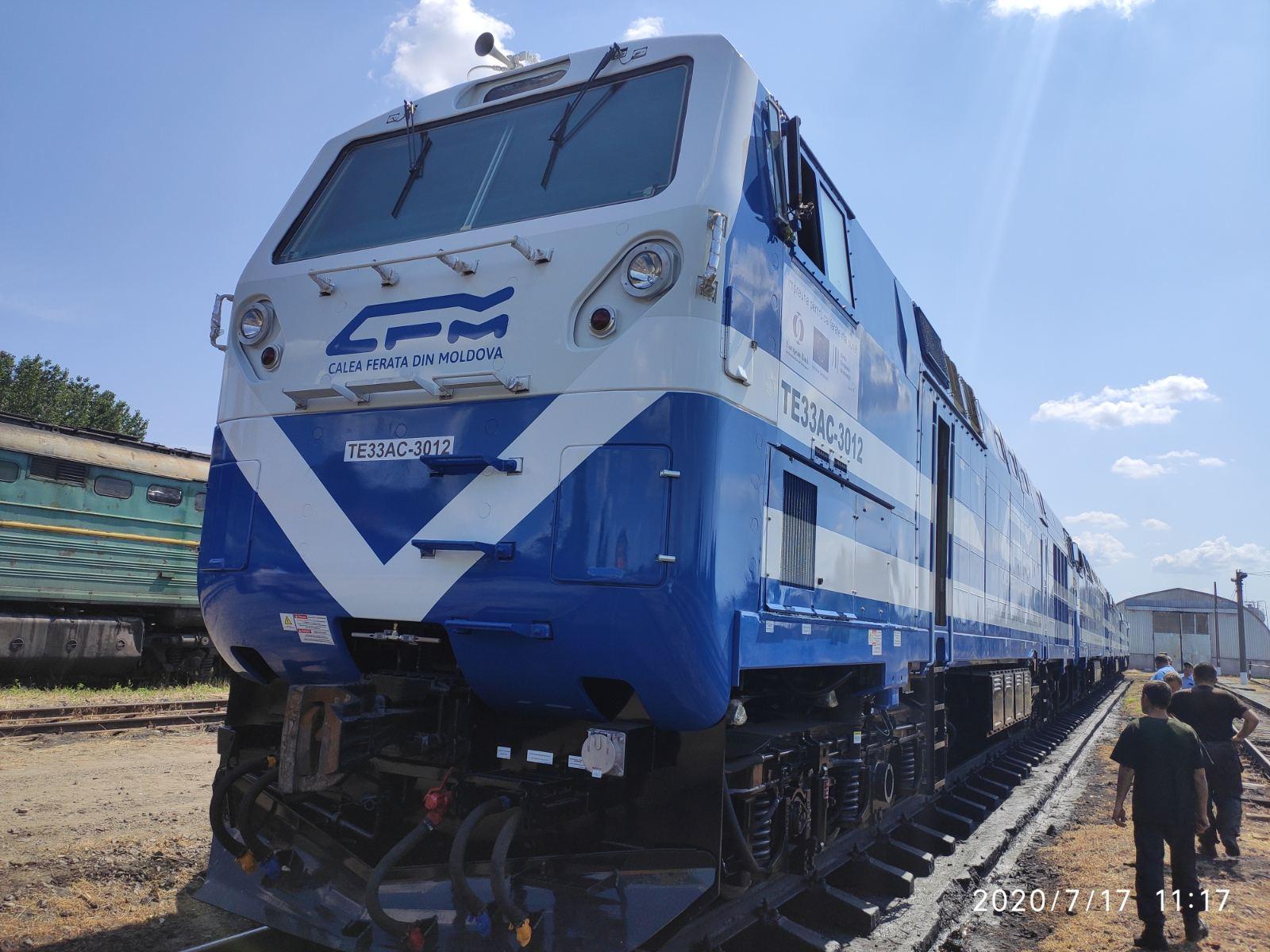 В район Басарабяска прибыли новые локомотивы