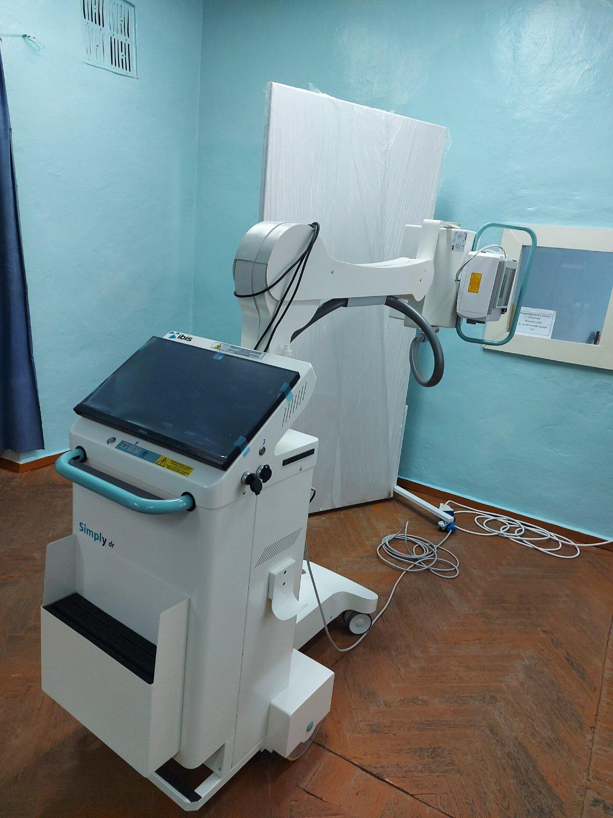 В Районную больницу Басарабяска прибыл новый портативный рентген аппарат