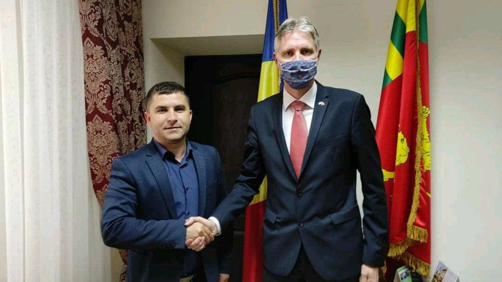 Посол Латвии посетил район Басарабяска. июнь 2021