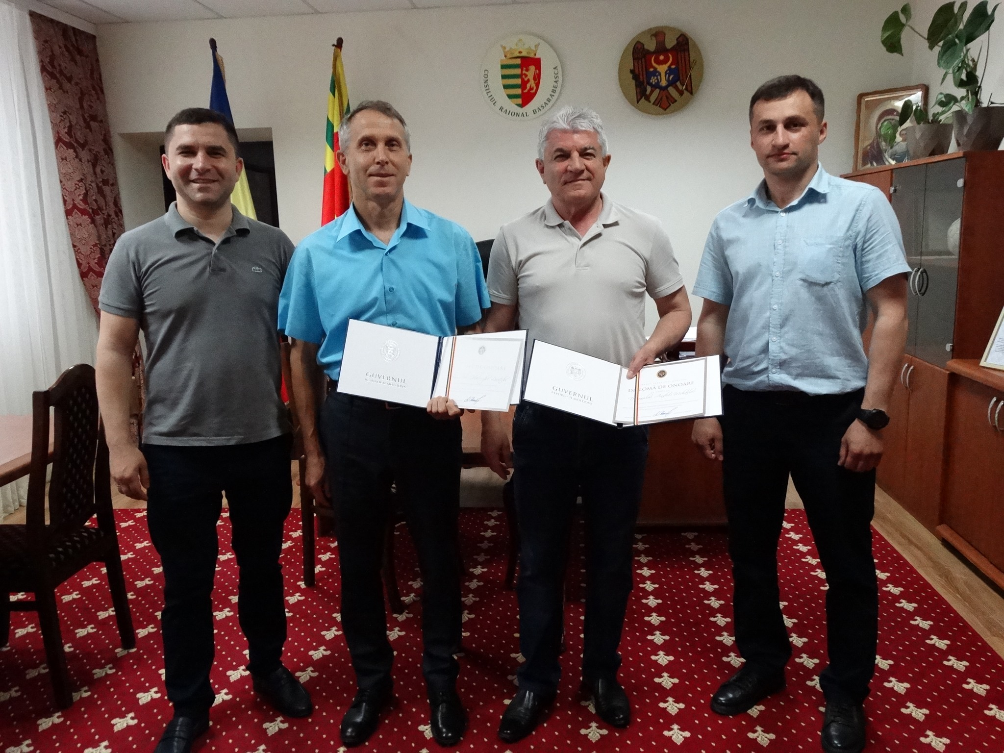 Почетные дипломы от Правительства РМ